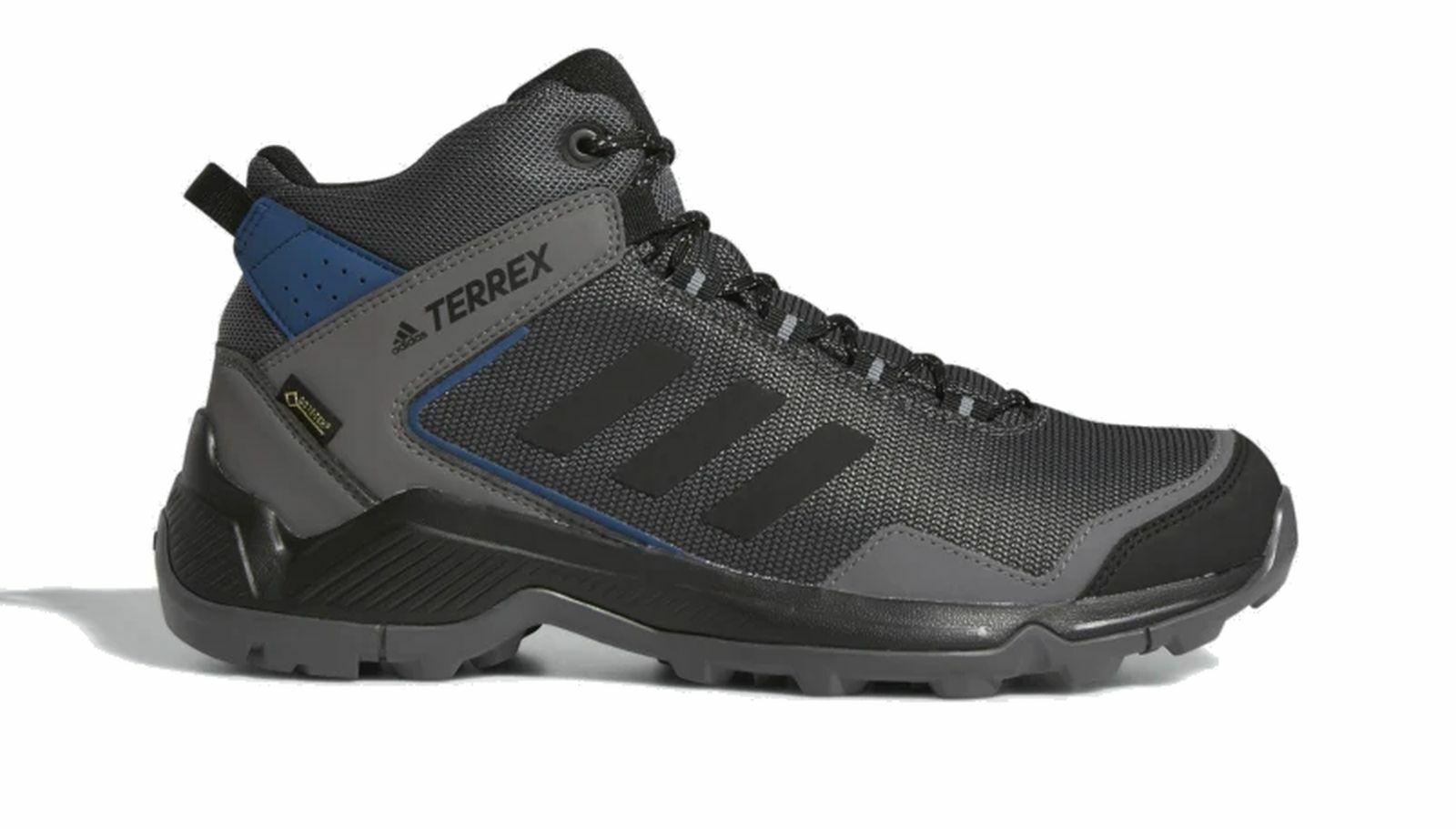 Adidas Performance Uomo Trekking All'Aperto Scarpa Terrex Eastrail Mid Mid Mid GTX Nero 13ee50
