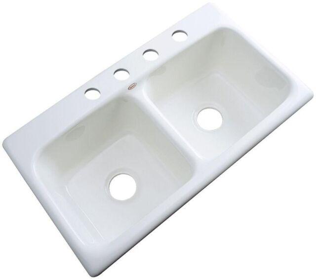 Corselect White Acrylic Kitchen Sink 7