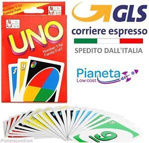CARTE-DA-GIOCO-UNO-1-CONFEZIONE-DUE-2-MAZZI-GIOCO-SOCIETA-039-DA-TAVOLA-CON-GLS-24H