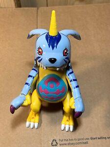 Bandai-2000-Digimon-Digivolving-Gabumon-to-Weregarurumon-Micro-Playset-Mini