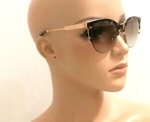 bf1bbdc74009 Victoria Beckham VBS121 Kitten Gold Frame Sunglasses