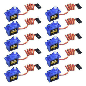 10X-Micro-SG90-Servo-Motor-9G-para-RC-helicoptero-avion-para-Arduino-control-Min