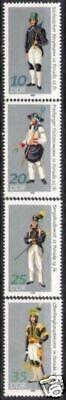 Postfrisch Briefmarken Motive Professioneller Verkauf Ddr Nr.2318/21 ** Bergbau Paradetrachten 1978