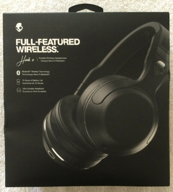 NIB Skullcandy Hesh 2 Bluetooth Wireless Headband Headphones FREE SHIPPING!