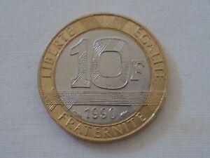 France-1990-Liberte-Egalite-Fraternite-10-Fr-Coin
