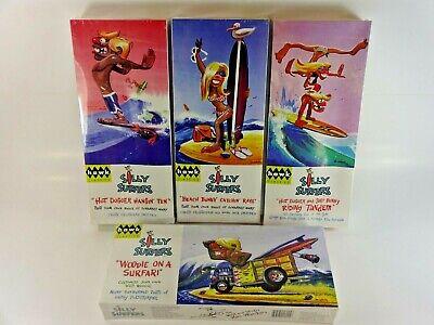 /& Tandem 3 Hodad Hawk Classics Silly Surfers Plastic Model Kits Hangin Ten