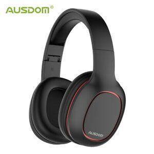 casque-Bluetooth-M09-sur-l-039-oreille-casque-filaire-sans-fil-pliable-carte-TF