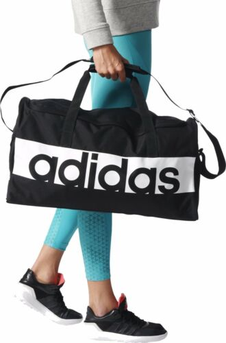 18e9590c752cab Adidas Tiro17 Linear Training Gym Sports Football Duffle Bag Holdall Black  XS-L