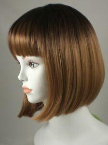 Light-Brown-Short-Straight-Bob-Style-China-Doll-Wig
