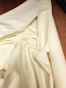 CREAM-COTTON-SATEEN-LINING-FABRIC-20-METRES-54-034-WIDE