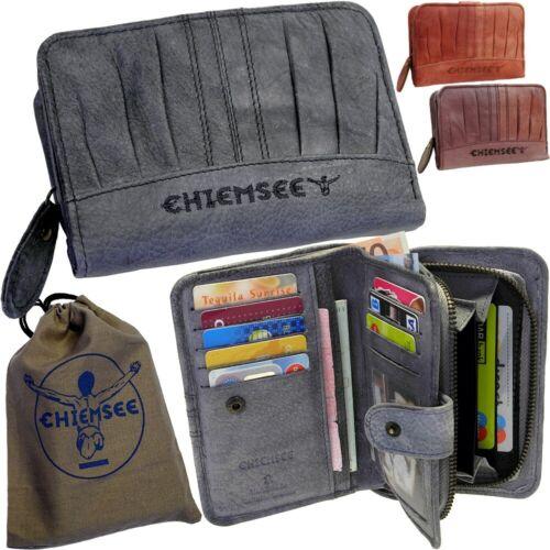 Chiemsee Damen Vintage Portemonnaie Geldbörse Geldbeutel Ladys Leather Purse Neu