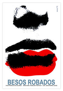 Cuban-movie-Poster-STEAL-a-KISS-French-Lipstick-left-by-love-Romantic-room-art