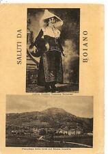 Saluti da BOIANO_Antico Rustico Costume_Panorama della Città col Monte Crocella