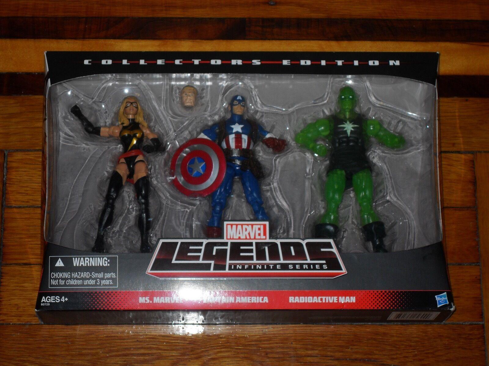 Marvel - legenden unendlichen serie  marvel - captain america radioaktiven mann.