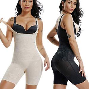 8d0d00518e Women Open Bust Seamless Full Body Shaper Mid Thigh Slimming ...