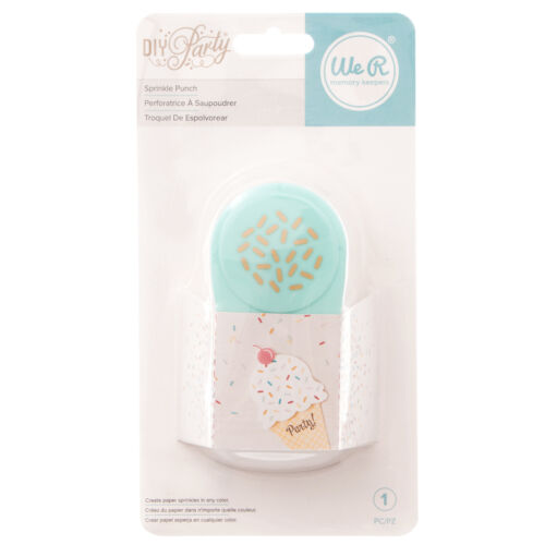 American Crafts We R Memory Keepers DIY Party Collection Paper Sprinkle Puncher