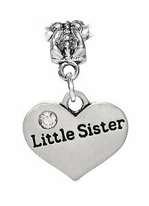 Little-Sister-Heart-Younger-Sibling-Gift-Dangle-Charm-for-European-Bead-Bracelet