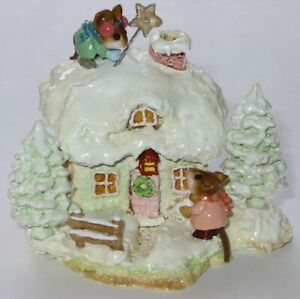 Wee-Forest-Folk-Special-Limited-Edition-Christmas-Cottage