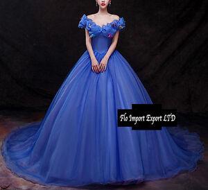Caricamento dell immagine in corso Cenerentola-Vestiti-Carnevale-Donna-Dress -up-Cinderella-Woman- 6b34f67aa010