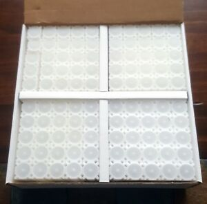 One-Brand-New-Box-of-100-Coinsafe-Stackable-Durable-Hard-Plastic-Penny-Tubes