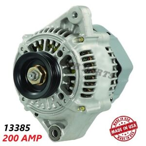 200 Amp 13385 Alternator Toyota MR2 High Output Performance HD NEW