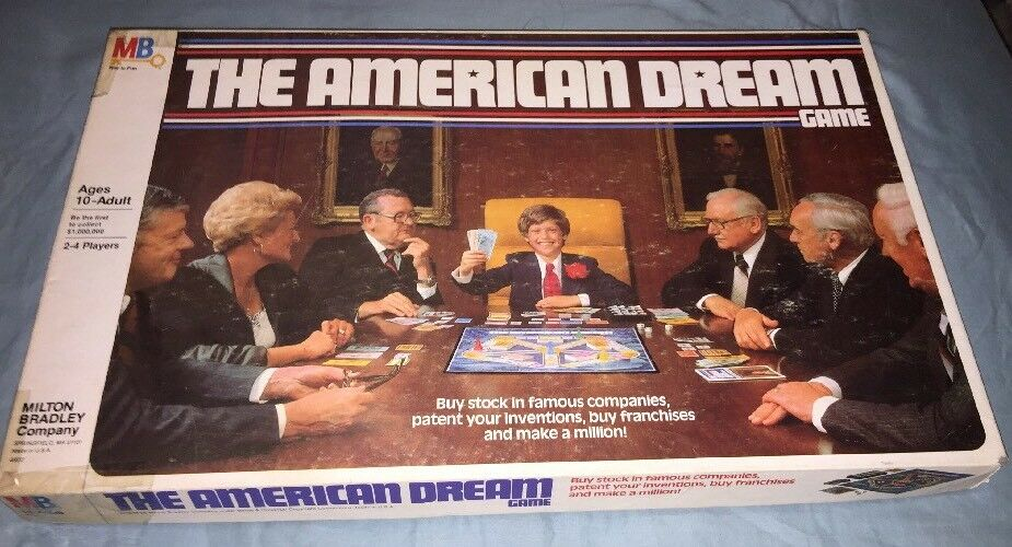 The American Dream Board Game 4922 Vintage 1979