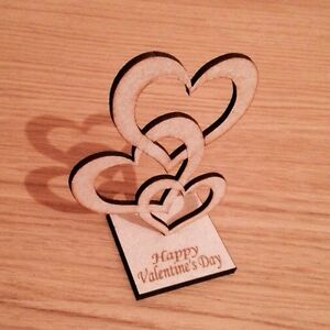 wooden-freestanding-Hearts-Valentines-039-s-Day-Gift-Present-Mdf-Blank