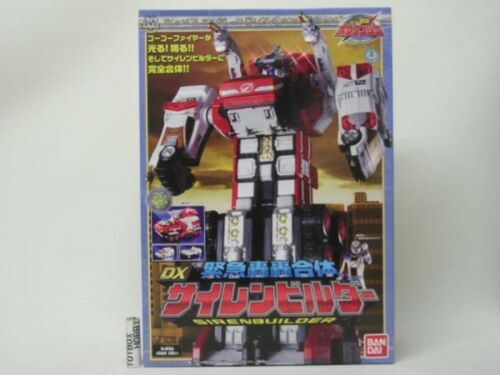 Power Rangers Boukenger Go Go Gattai DX SirenBuilder MEGAZORD Japan F//S New