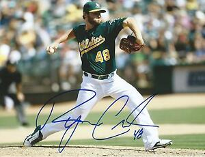 8x10 COA Autographed MLB Photos Autographed Ryan Cook Photo