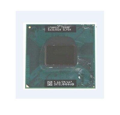 Intel Core 2 Duo T5500 SL9SH 1.66GHz/2M/667MHz Socket M Mobile CPU Processor