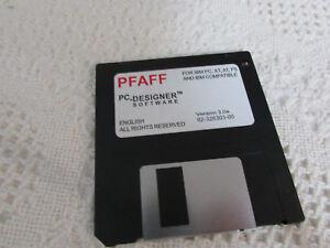 Pfaff 7550 1475 Pc Designer Software Original Replacement Disk Nice Pre Own Cond Ebay