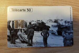 Telefonkarte - 50eme Jahrestag Des Landungen Und Libération Frankreich (A8525)