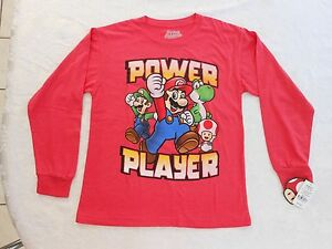 f257a37f Boy's Super Mario Size Large