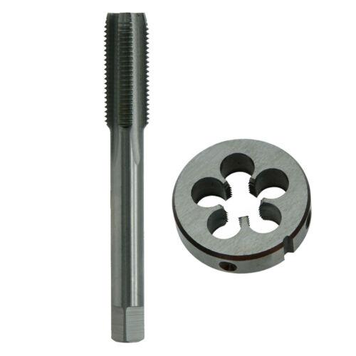 High Speed Steel Metric Right Hand Thread Tap Die M12x1.25mm Pitch Part Set Kit