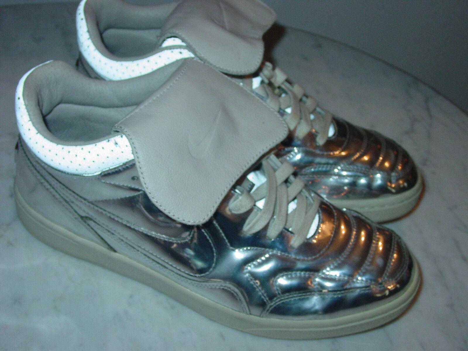 2013 - nuovo galles del sud con 94 mid sp argento metallico / metallo liquido le scarpe!dimensioni