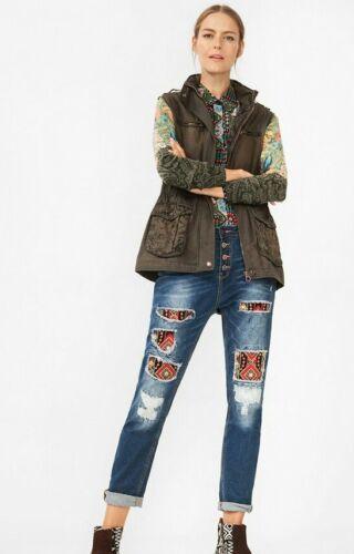 Maria jaqueta Veste Desigual T 40 Nouveau 36 Y xBnBPYqg