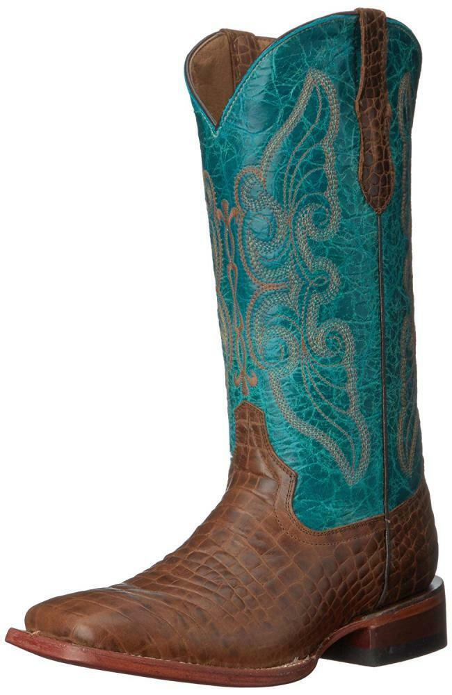 Ferrini Women's Print Belly S-Toe Western Boot