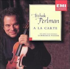Itzhak Perlman A la carte (CD, Oct-1995, EMI Music) Minty CD Abbey Road