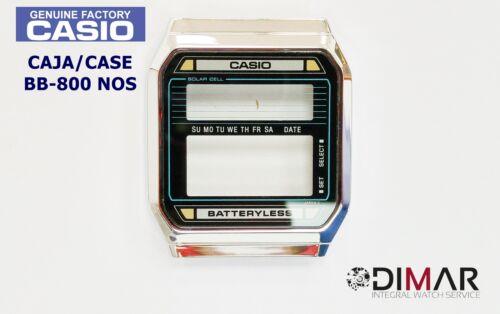 VINTAGE CASE//CAJA  CASIO BB-800 NOS