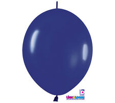 """10ct. ROYAL BLUE  Link-o-Loon 12"""" Latex Helium Linking Balloons ARCHES ARBORS"""