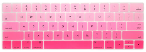 US New for w//Touch Bar and Touch ID New MacBook Pro Keyboard Cover Skin Laptop