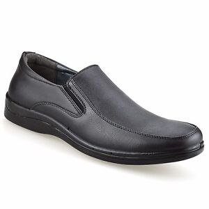 Mens-Smart-Casual-Formal-Slip-On-Loafers-Work-Office-Driving-Walking-Shoes-Size