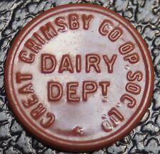 GREAT GRIMSBY CO-OP SOC. LTD. - DAIRY DEPART. - 1 PINT - Nice - NCC