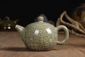 China-Longquan-Celadon-Kung-Fu-Tea-Set-Teapot-GeYao-Xishi-Teapot-220cc