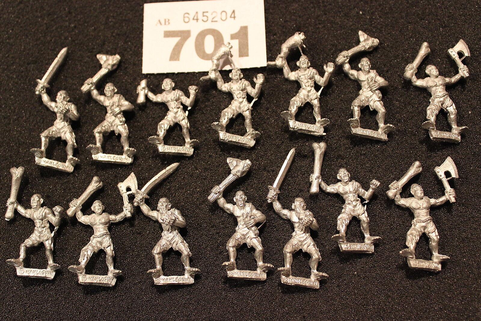 Harlequin Miniatures Ghouls MORTI VIVENTI ZOMBIE Reggimento Esercito Figure in metallo NUOVO FUORI CATALOGO
