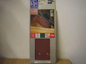 Rutscher Schwingschleifer Schleifpapier 14 Loch 115 mm x 280 mm 240 Korn LUX