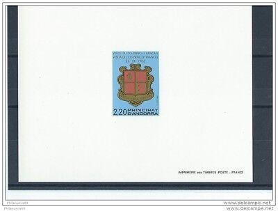 Lot 062015/076a Andorre 1987 Yt N° 355 Epreuve De Luxe Reasonable Price