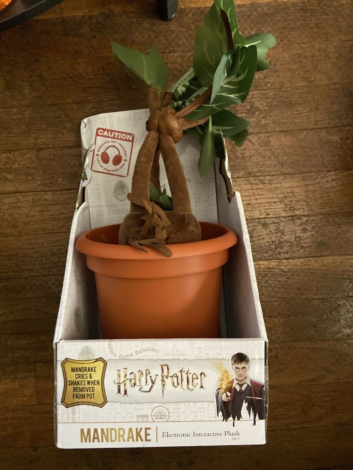 Harry Potter Peluche interactive Mandragore Noble Collection
