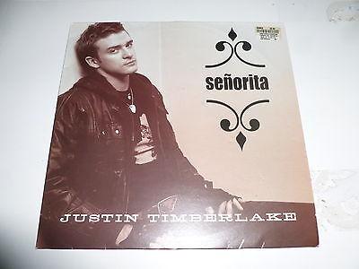 "JUSTIN TIMBERLAKE - Senorita - 2003 UK 3-track 12"" vinyl ..."