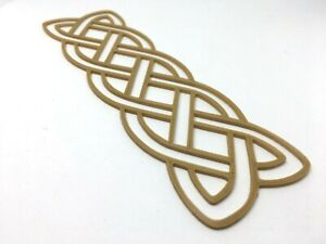 Details about Celtic knot Bookmark - Insular Art Simple Linear Knotwork  Book Mark Gift